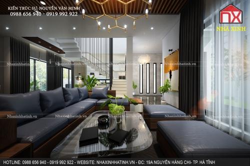 Thiết kế và thi công nội thất nhà tại TP. Hà Tĩnh