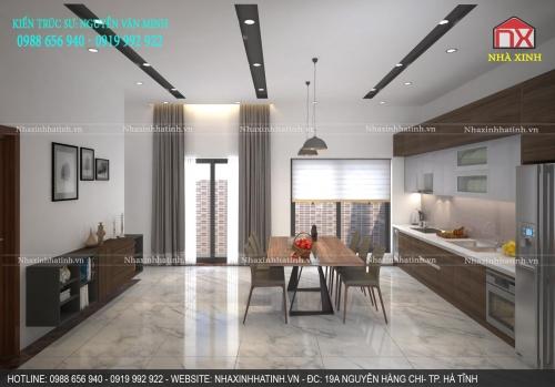 Thiết kế nội thất nhà anh Dũng - Cẩm Lĩnh