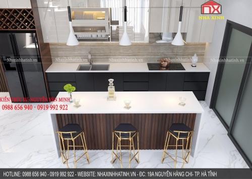 Thiết kế nội thất nhà Anh Nam - Thạch Trung