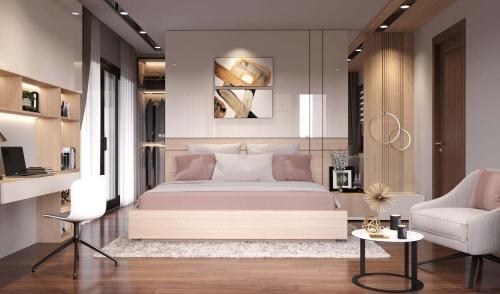Nội thất phòng ngủ đẹp tại Hà Tĩnh