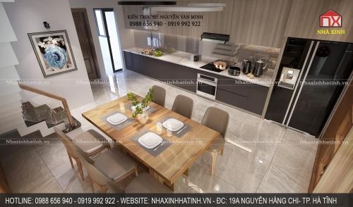 Thiết kế nội thất nhà anh Hoàn - Cẩm Xuyên