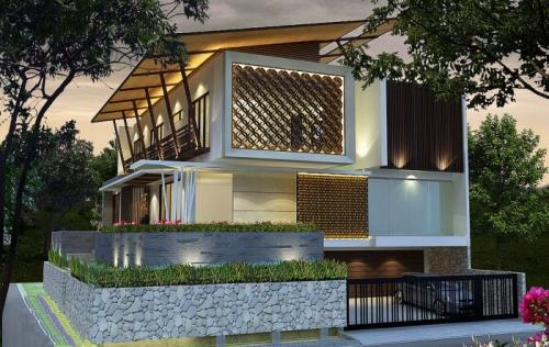 Mẫu Thiết kế Biệt thự 3 tầng Hà Tĩnh