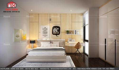 Những mẫu Thiết kế nội thất phòng ngủ đẹp tại Hà Tĩnh