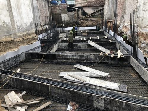 Những lưu ý quan trọng khi đổ móng nhà - Nhà Xinh Hà Tĩnh