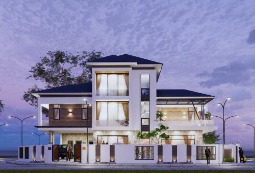 Mẫu biệt thự đẹp, hiện đại ở Hà Tĩnh