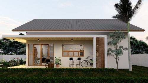 Trọn bộ nhà cấp 4 đẹp, chi phí thấp ở Hà Tĩnh