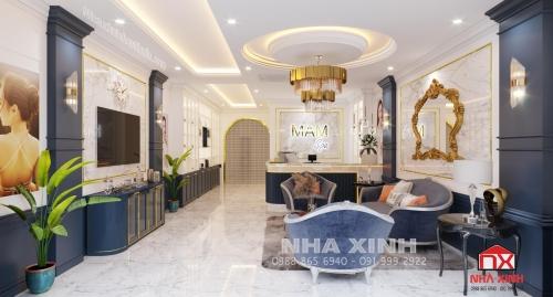 Thiết kế nội thất Showroom tại Thành phố Hà Tĩnh
