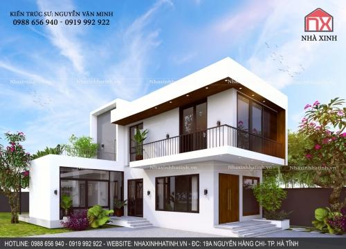 Thiết kế nhà tại Hà Tĩnh tổng vốn đầu tư 800 triệu