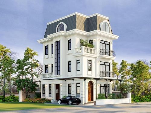Sự Thịnh hành của lối kiến trúc Tân cổ điển trong Thiết kế Biệt thự - nhà ở
