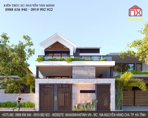 Thiết kế nhà cải tạo ở Hương Khê