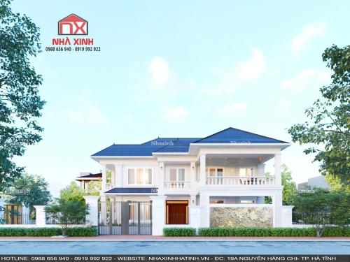 Cập nhật tiến độ thi công công trình nhà ở tại Hà Tĩnh - Nhà chị Thuỷ