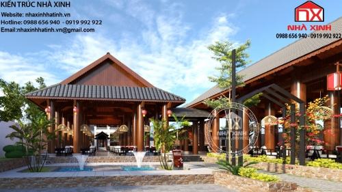 Thiết kế quán cà phê siêu đẹp tại Hà Tĩnh