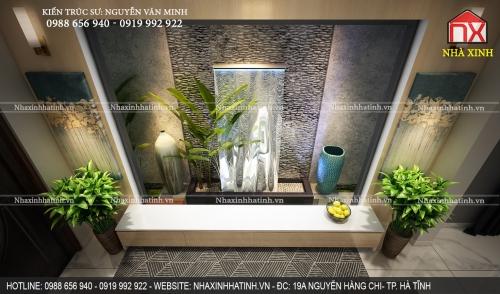 Thiết kế nội thất nhà hà tĩnh