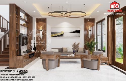Mẫu thiết kế nội thất đẹp tại Hà Tĩnh - nhà anh Đồng