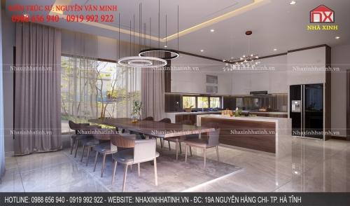 Thiết kế nội thất nhà khách hàng tại Kỳ Đồng