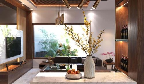 Thiết kế nội thất nhà anh Bính tại thành phố Hà Tĩnh