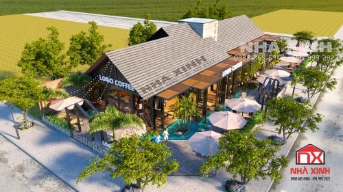 Thiết kế thi công quán cà phê tại Hà Tĩnh
