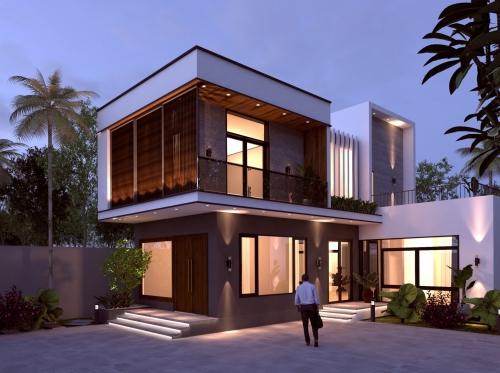 Thiết kế nhà tại TP. Hà Tĩnh tổng vốn đầu tư 700 triệu