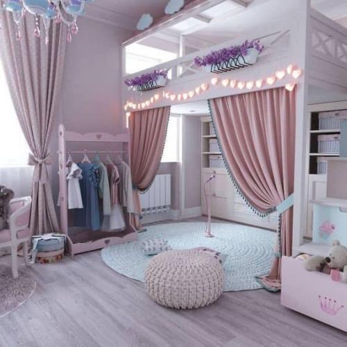 Thiết kế nội thất phòng ngủ đẹp cho trẻ em tại Hà Tĩnh
