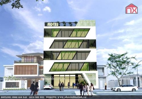 Thiết kế khách sạn 2