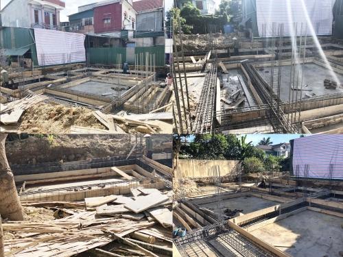 Thi công công trình nhà ở TP Hà Tĩnh