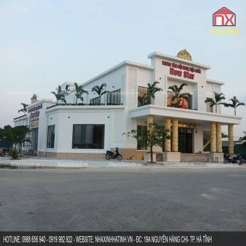 Thiết kế nhà hàng tiệc cưới tại Cẩm Xuyên - Hà Tĩnh