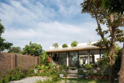 Thiết kế nhà vườn 1 tầng hà tĩnh - Mẫu Nhà đẹp 1 tầng thấy cảm hứng từ thiên nhiên
