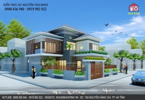 Thiết kế nhà tại Đức Thọ - Hà Tĩnh