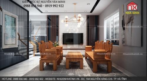Mẫu thiết kế nội thất nhà đẹp tại TP Hà Tĩnh