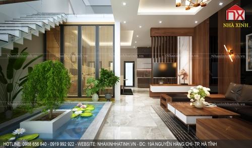 Thiết kế thi công nội thất nhà tại TP Hà Tĩnh